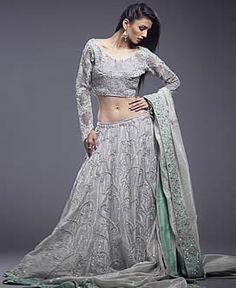 Artistic Wedding Lehenga Laguna Hills California CA USA Short Blouse Wedding Dresses