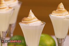 Mousse de limão, por Bruna Di Tullio. http://www.bemsimples.com/br/artesanato/75442-mousse-de-lim%C3%A3o