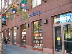St. Mark's Bookshop. at 31 Third Ave between 8th and 9th Streets, New York, NY.  Wonderful for browsing and buying.