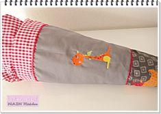 Schultüten - Schultüte  Dinos mit Kissen  - ein Designerstück von MAIN-Maedchen bei DaWanda
