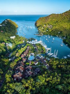 A St. Lucia Resort Where the Local Culture Takes Center Stage on domino.com