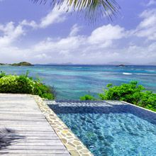Semi private island Mustique - Moana villa. all the villas on this island are amazing!!! oh to dream...