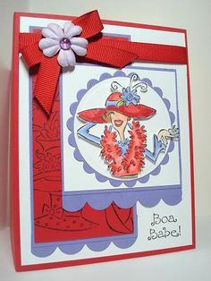 Another Red Hat Card