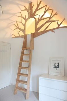 Tree Den | Design By Timber. Bespoke, custom made children's bed made to order.
