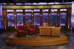 late night talk show set - Google Search