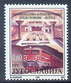 Yugoslavia 1995, Metro Mi.#2715, MNH | eBay
