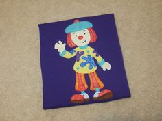 JOJO from JOJO's CIRCUS Clown PLAYHOUSE Custom Boutique T SHIRT Tee MMBJ  TODAYS NEW GYPSY SPOONFUL LISTINGS FOR JUNE 4 2017  #GypsySpoonful #Handmade #SmallBusiness #Shopping #Boutique #CustomBoutique #EtsyAlternative