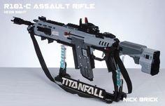 LEGO Titanfall rifle