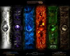 The 4 Elements and elementals by on DeviantArt Elements, Elemental Powers, Magic Book, Fantasy Art, Magic Symbols, Magic Powers, Magic Art, Dark Fantasy Art, Magic Circle
