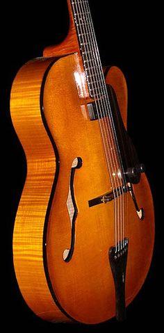 Jimmy Foster custom archtop jazz guitar