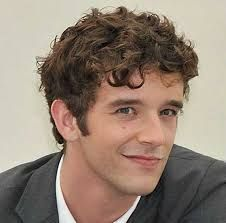 Image result for messy short curly brown hair boy england
