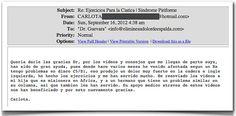 Testimonio 12 - Elimine Su Dolor de Espalda     http://www.ElimineSuDolorDeEspalda.com/blog