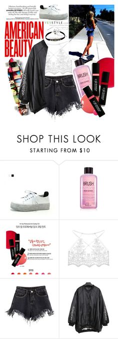 """Morning in America~YesStyle"" by yesstyle ❤ liked on Polyvore featuring Seirios"