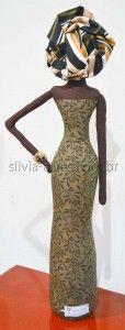 Boneca Africana VII