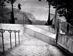 'Stairs of Montmarte' by Andre Kertesz. Just achingly beautiful
