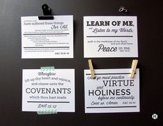Personal Set D&C Scripture Mastery Memes, 4 per page copy