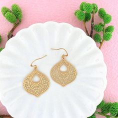 Online Shopping For LAVISHY Unique And Beautiful Filigree Earrings – LAVISHY Boutique Filigree Earrings, Pendant Earrings, Silver Earrings, Fashion Accessories, Fashion Jewelry, Moroccan Pattern, How To Make Light, Lead Free, Custom Jewelry
