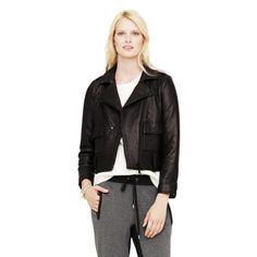 Delaine Moto Jacket - Jackets & Vests Women at Club Monaco