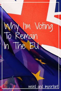 Vote Remain on the 23rd.