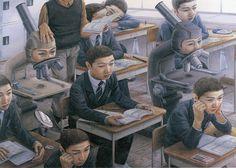 平塚市美術館で石田徹也展 - 現代社会を鋭く風刺したユーモラスな作品群の写真8