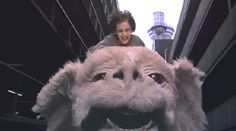 The Neverending Story...special effects were terrible & the acting was cheesy..but still a good movie :)