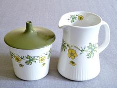Figgjo Flint Norway Yellow Floral Buttercup and by MindenShop, $40.00