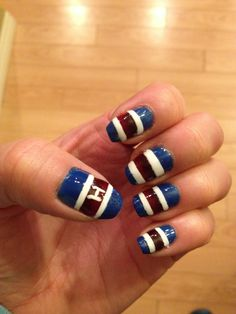 De beaux ongles great habs nail art soumis par submitted by les canadiens sont 1 montreal canadienssportsnail prinsesfo Image collections
