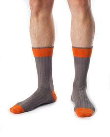 Carlisle - Men's Organic Cotton Fashion Socks. Like #anthropologie #jcrew #landsend.