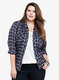 TORRID.COM - Plaid Shirt