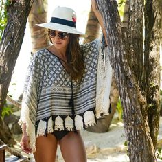 Perfect kaftan for going to the Beach!