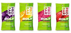 Probar Bolt Organic Energy Chews, Variety Pack, 2.1 Ounce (Pack of 4)