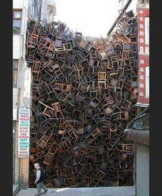 installation chair (art-design)