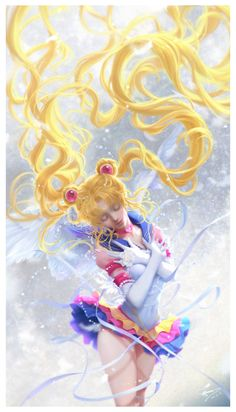 ArtStation - Eternal Sailor Moon, sunmomo 珊 Sailor Moon Sailor Stars, Sailor Moon Manga, Sailor Moon Crystal, Arte Sailor Moon, Sailor Moon Fan Art, Sailor Moon Cosplay, Sailor Scouts, Illustration Manga, Illustrations