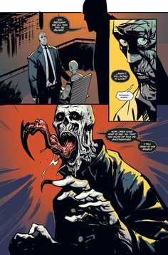 Book comic the strain