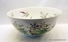Japanese Porcelain Ware Large Mixing bowl by ogdenlane on Etsy, $45.00