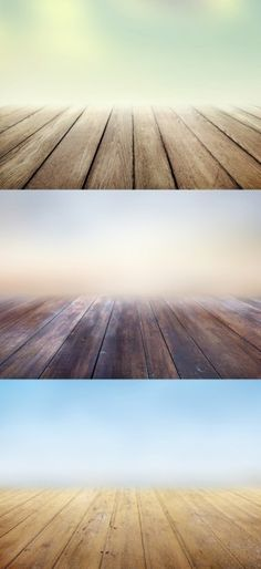 Wooden floors backgrounds with blurs