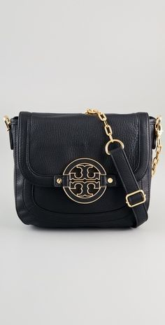 Tory Burch. Amanda Cross Body Messenger Bag.