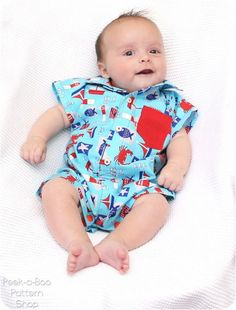 Your little one will be cute as can be in the button-up baby romper! Classic oxford styling combined with a romper makes for the perfect sum...