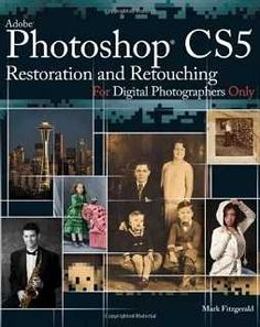 Adobe Photoshop CS5 Restoration and Retouching For Digital Photographers Only is the complete guide to restoration and retouching. Whether you're new to Photoshop, or if you've been using it for years, you'll learn lots of new tricks that will help put the beauty back into cherished family photos, and turn new photos into frameable works of art.