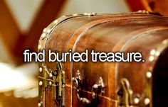Find buried treasure.