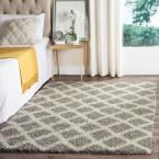 Beverley Gray/Ivory 5 ft. 1 in. x 7 ft. 6 in. Area Rug