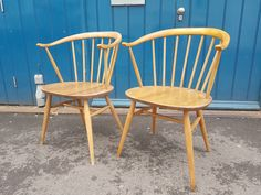A personal favourite from my Etsy shop https://www.etsy.com/uk/listing/546122247/pair-of-1960s-ercol-cowhorn