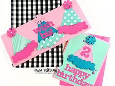 lauralooloo: Are You Looking For Adorable (and Simple) Birthday Card Ideas? Simple Birthday Cards, Card Making Techniques, Handmade Cards, Cardmaking, Card Ideas, Paper Crafts, Scrapbook, Party, Projects