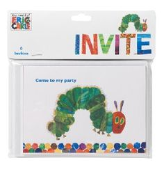 Very Hungry Caterpillar Party Invitations