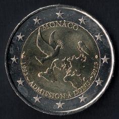 2 euro Monaco 2013- moeda comemorativa