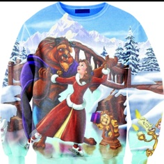 I would def wear this. love beauty and the beast