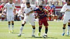 FC Barcelona 1 - 3 Manchester U. #FCBarcelona #Game #Match #Football #TourFCB