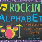 This colorful, fun, and musical classroom alphabet is sure to be a great addition to your rock and roll or rock star themed classroom! Each alphabe... $3.00