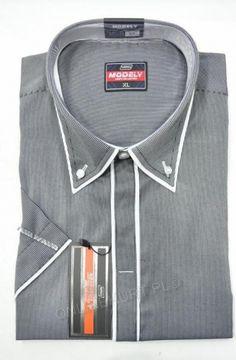 Koszula Męska Modely NR-3-J-CT  Kr. Rękaw (S-2XL)