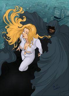 Cloak and Dagger one of my all time favorite comics EVER!!!!!! Still a better love story then twilight.
